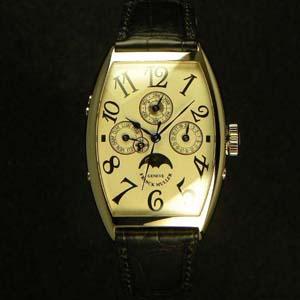 カルティエ ラドーニャ / フランクミュラー スーパーコピー時計 トノウカーベックス パーペチュアルカレンダー 5850QP24