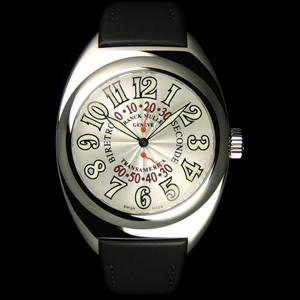 スカルバン 、 フランク・ミュラー コピー 時計 トランスアメリカ ビーレトロセコンド 2000SR AC White
